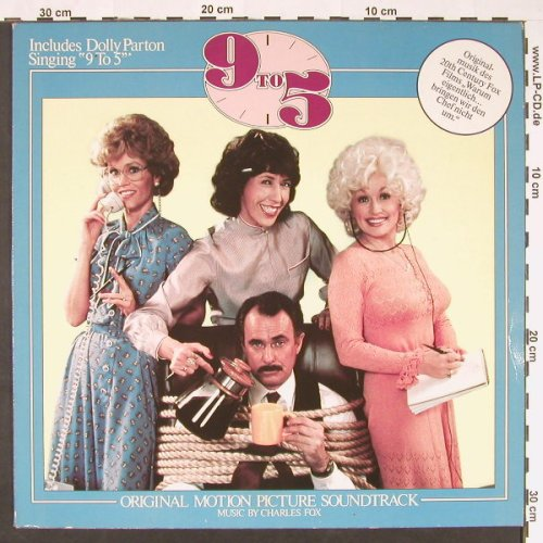 9 to 5: Orig.Soundtrack, 20th Century Fox(FL 48627), D, 1980 - LP - C9022 - 5,00 Euro