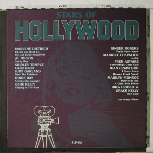 V.A.Stars Of Hollywood: Box, Ri, Flashback(9029/3), D,  - 3LP - C9552 - 7,50 Euro