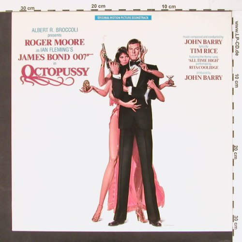 Octopussy - James Bond 007: John Barry, Tim Rice, AM(AMLX 64967), NL, 83 - LP - C960 - 7,50 Euro