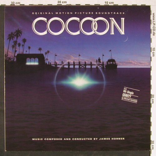 Cocoon: Original Soundtrack,by James Horner, Polydor(827 041-1), D, 1985 - LP - E1191 - 5,50 Euro