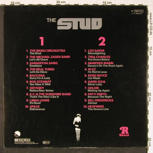 The Stud / Die Stute: 20 Smash Hits from the.., Foc, EMI(058-61 513), D, 1978 - LP - E1193 - 5,50 Euro