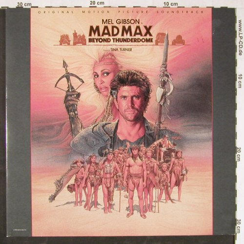 Mad Max / Beyond The Thunder Dome: Original Soundtrack,Foc, Capitol(24 0380 1), NL, 1985 - LP - E1995 - 5,00 Euro
