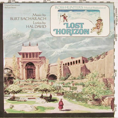 Lost Horizon: OST, Burt Bacharach,Hal David,Foc, Bell(1300 Stereo), US, co, 1973 - LP - E2489 - 9,00 Euro