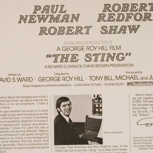 The Sting /  Der Clou: Original Soundtrack, MCA(MAPS 7220), D, 1974 - LP - E2588 - 7,50 Euro