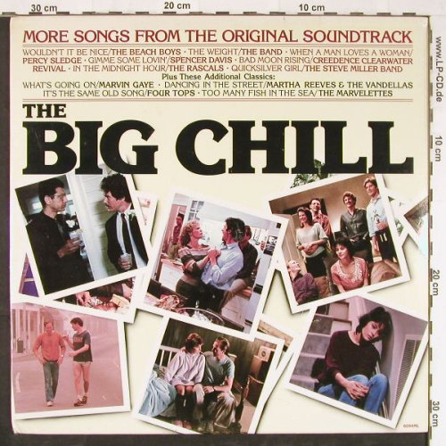 Big Chill: More Songs From,V.A. FS-New, Motown(6094ML), US, 1984 - LP - E2775 - 6,00 Euro