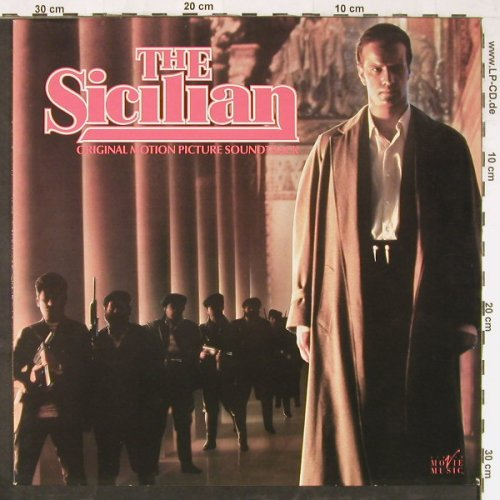 The Sicilian: Original Soundtrack,Davis Mansfield, Virgin(V2487), UK, 1987 - LP - E2840 - 5,00 Euro