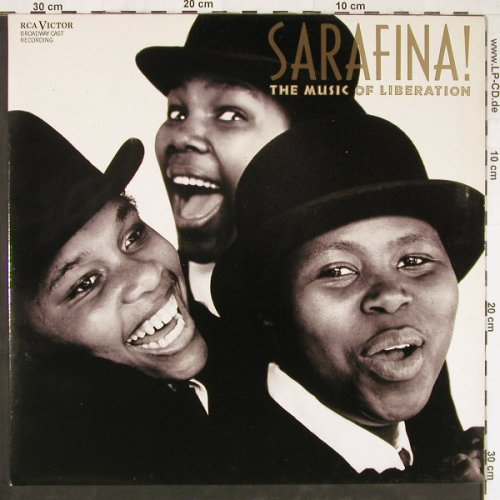 Sarafina!: The Music of Liberation, Foc, RCA(RL 89307), D, 1988 - LP - E2880 - 3,00 Euro