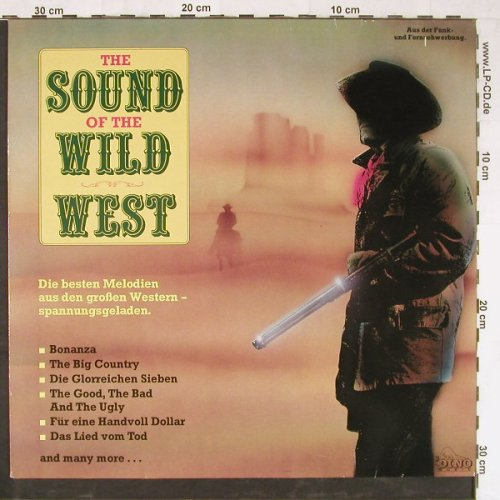 V.A.The Sound Of Wild West: Die besten Melodien...,16 Tr., Dino(LP 1881), D, 1988 - LP - E2943 - 4,00 Euro
