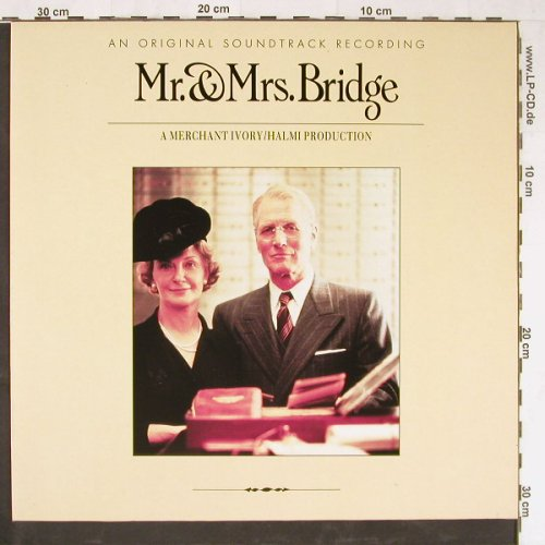 Mr. & Mrs.Bridge: Original Soundtrack, RCA(PL83100), D, 1990 - LP - E2986 - 5,00 Euro