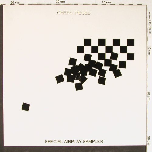 Chess Pieces: Special Airplay Sampler,Promo, RCA(CHESSP1), UK, 1984 - LP - E3219 - 9,00 Euro