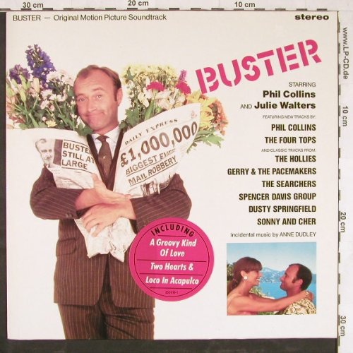 Buster: Original Soundtrack, WEA(255 918-1), D, 1988 - LP - E3427 - 2,00 Euro