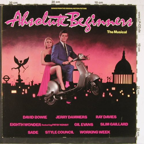 Absolute Beginners: The Musical, David Bowie..J.Dammers, Virgin(207 588-630), D,10 Tr., 1986 - LP - E3477 - 5,00 Euro