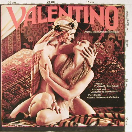 Valentino: Original Soundtrack, UA(30 120 OT), D, 1977 - LP - E3698 - 5,00 Euro