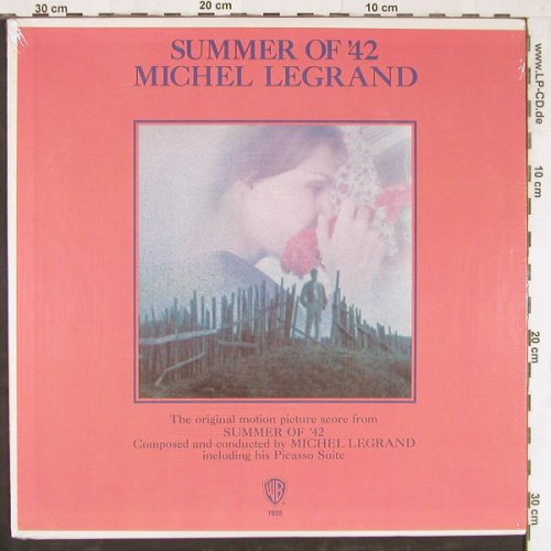 Summer Of '42 / Michel Legrand: Soundtrack, FS-New, WB(1925), US, 1971 - LP - E4251 - 9,00 Euro