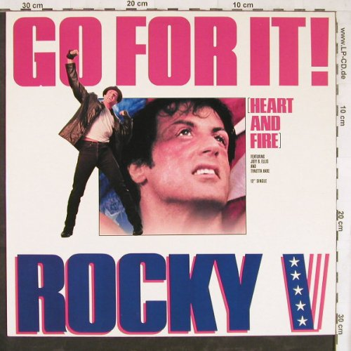 Rocky V: Heart And Fire*3, Capitol(060-20 4156 6), NL, 1990 - 12inch - E4456 - 4,00 Euro