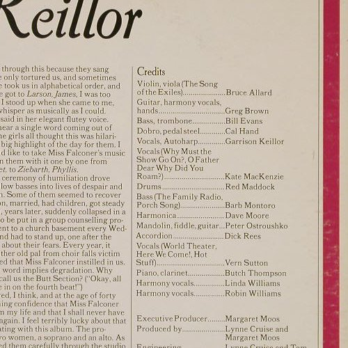 Keillor,Garrison: The Family Radio,Foc, PHC(606), US, 1982 - 2LP - E4526 - 7,50 Euro