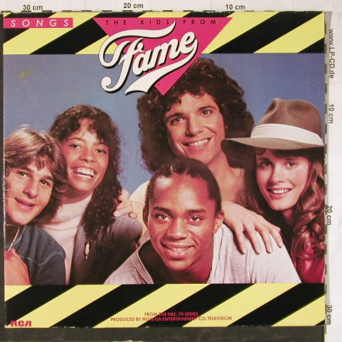 Fame - Kids From Fame: From NBC-TV Series,Foc, RCA(PL 84 525), D, 1982 - LP - E5213 - 5,00 Euro
