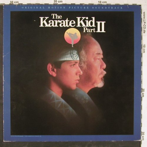 Karate Kid: Part II,Original Soundtrack by V.A., WB(925 489-1), D, 1986 - LP - E5444 - 5,00 Euro