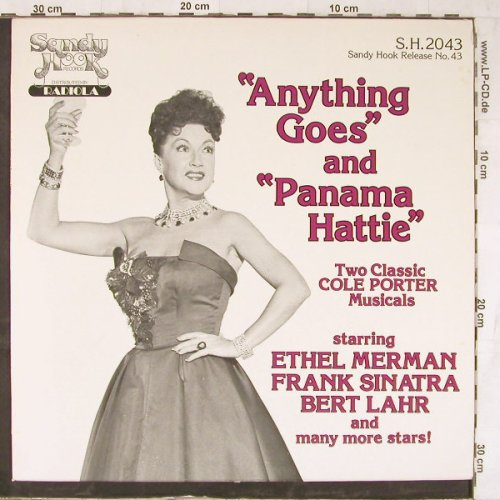 Anything Goes and Panama Hattie: Two Cole Porter Musicals(f.Sinatra), SandyHook(S.H.2043), US, 1981 - LP - E5480 - 7,50 Euro