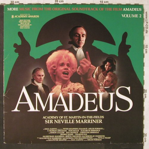 Amadeus: More Music From, Vol.2, Metronome(827 266-1), D, 1985 - LP - E6562 - 5,00 Euro