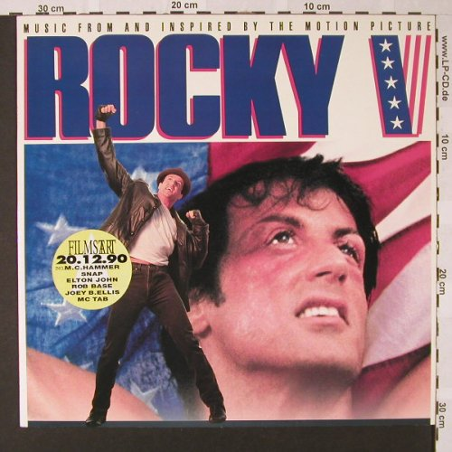 Rocky V: Music From, Capitol(), NL, 1990 - LP - E7828 - 5,00 Euro
