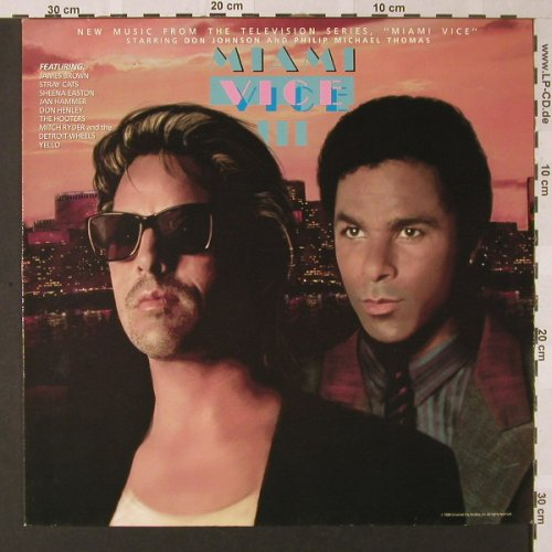 Miami Vice III: Sheena Easton...Jan Hammer, MCA(255 961-1), D, 10 Tr., 1988 - LP - E8368 - 5,00 Euro