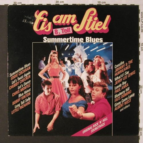 Eis Am Stiel 8: Summertime Blues, m-/vg+, CBS(462952 1), NL, 1988 - LP - E8788 - 5,00 Euro