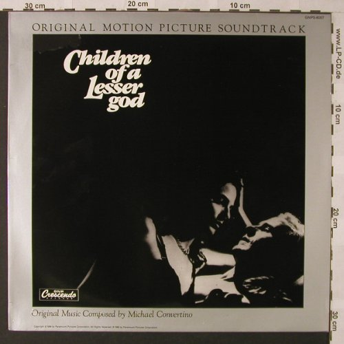 Children Of A Lesser God: Original Soundtrack, Crescendo(GNPS-8007), D, 1986 - LP - E9535 - 6,00 Euro