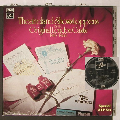 Theatreland Showstoppers: Original London Cast,Box, EMI Columbia(SCX 6523), UK,  - 3LP - F14 - 9,00 Euro