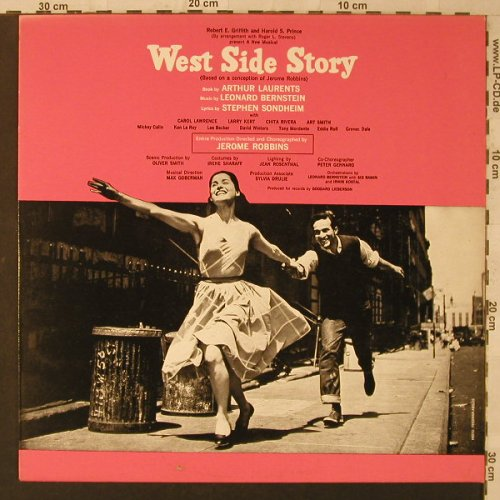 West Side Story: Original Soundtrack, Ri, CBS(32193), NL, 1957 - LP - F1946 - 5,00 Euro