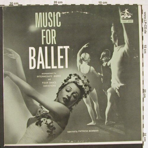 Music for Ballet: Accomp.f Intermediate Barre, Hoctor(HLP 3007), US,  - LP - F2583 - 5,00 Euro