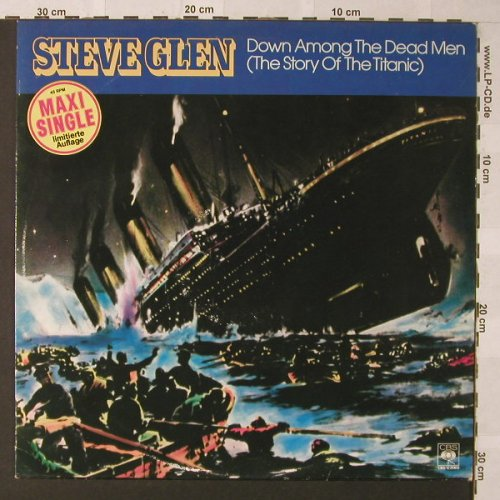 Glen,Steve: Down Among The Dead Men+1, CBS(12.8969), NL, 1980 - 12inch - F277 - 5,00 Euro