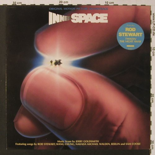 Innerspace: Original Soundtrack by J.Goldsmith, Geffen(GEF 460223 1), NL, 1987 - LP - F3038 - 5,00 Euro