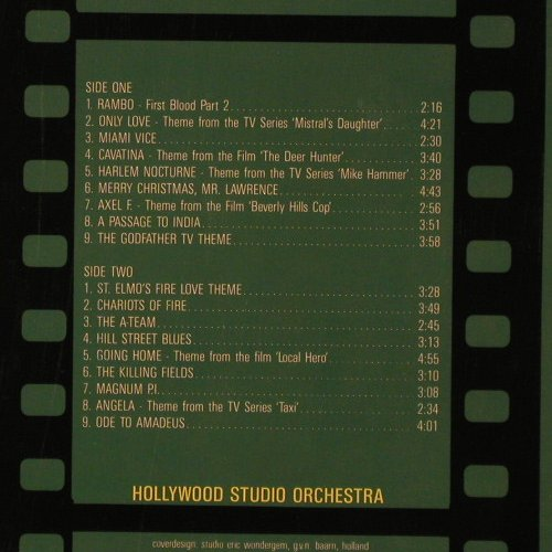 Hollywood Studio Orchestra: 18 Famous Film & TV Themes, Laser(26018), D,  - LP - F3039 - 5,00 Euro