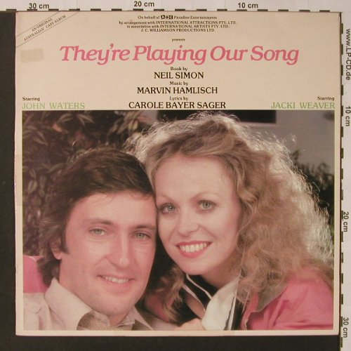 They're Playing Our Song: Original Australian Cast Album, Festival(L 37356), AUS, 1980 - LP - F3121 - 7,50 Euro