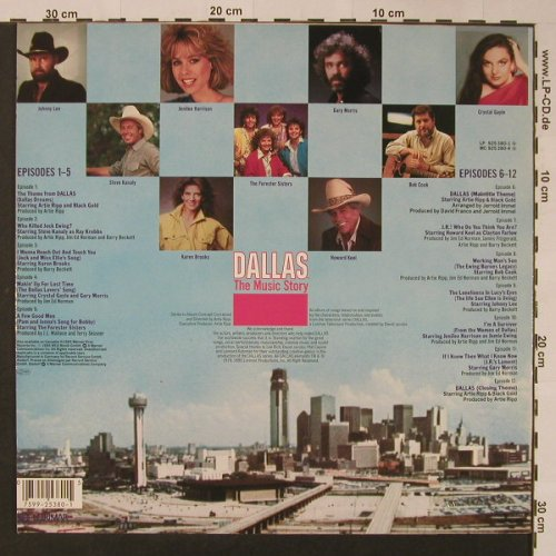 Dallas: The Music Story, WB(925 380-1), D, 1986 - LP - F3270 - 5,00 Euro