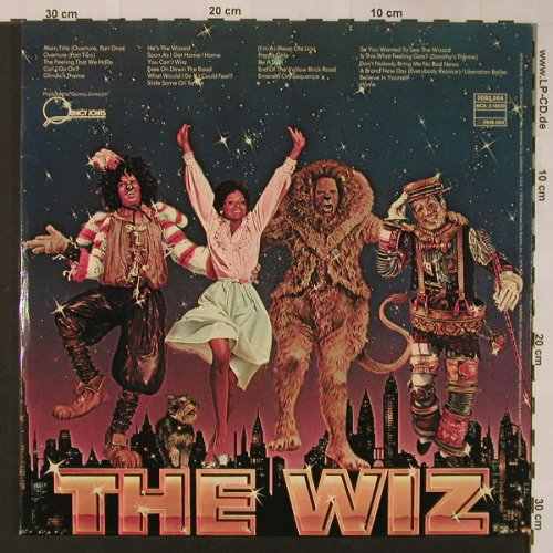 The Wiz: Orig.Soundtr. , Foc - Quincy Jones, MCA(0082.064), D, 1978 - 2LP - F3284 - 9,00 Euro