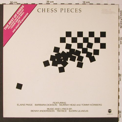 Chess Pieces: Best Of, m-/vg+, Telstar(STAR 2274), UK, 1987 - LP - F3413 - 4,00 Euro