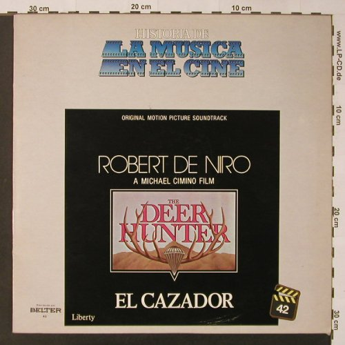 Deer Hunter,The - El Cazador: Original Soundtrack, Liberty(2-90.042), E,  - LP - F3437 - 6,00 Euro