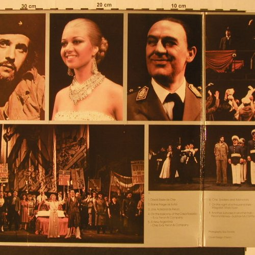 Evita: Original London Cast Recording, Foc, MCA(MCG 3527 BX), UK,m /vg+, 1978 - LP - F3713 - 4,00 Euro