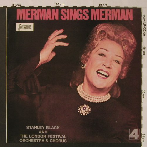 Merman,Ethel: Merman sings Merman'72, Ri, Jasmine(JAS 2209), UK,  - LP - F4082 - 6,00 Euro