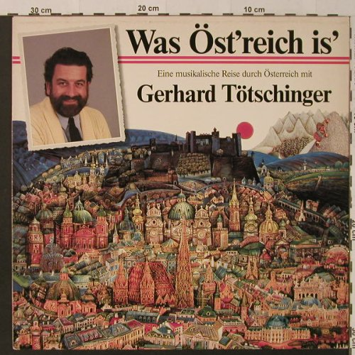 Tötschinger,Gerhard: Was Öst'reich is', Amadeo(829639-1), A, 1986 - LP - F4232 - 6,00 Euro