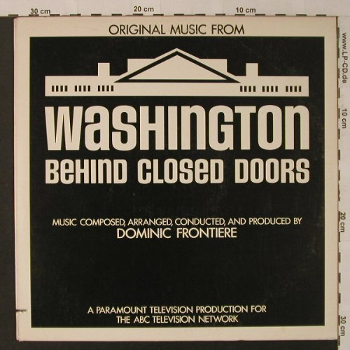 Washington Behind Closed Doors: Original Music From, co, ABC(AB-1044), US, 1977 - LP - F4358 - 9,00 Euro