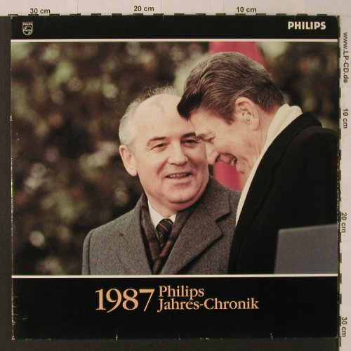 V.A.Philips Jahres-Chronik 1987: O-Töne, Booklet, Foc,, Philips(0647 232), D, 1987 - LP - F4430 - 5,00 Euro