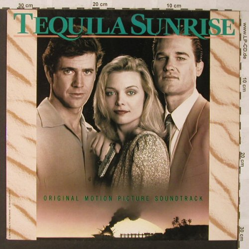 Tequila Sunrise: Original Soundtrack, Capitol(7 91185 1), EU, 1988 - LP - F485 - 5,50 Euro