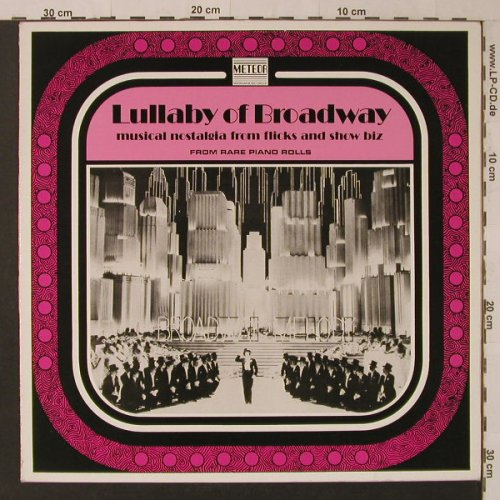 V.A.Lullaby of Broadway: From Rare Piano Rolls, Meteor(MTLP 1.009), UK,  - LP - F5417 - 5,00 Euro