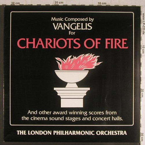 Chariots of Fire: by London Philh.Orch./comp.Vangelis, Hallmark(SHM 3112), UK, Ri, 1982 - LP - F6436 - 5,00 Euro