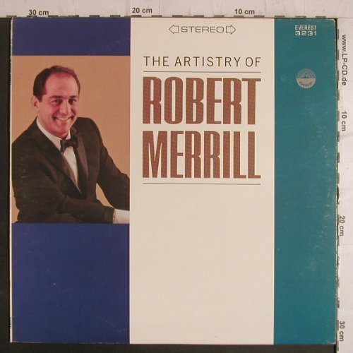 Merrill,Robert: The Artistry of, Everest Records(3231), US,  - LP - F6932 - 7,50 Euro