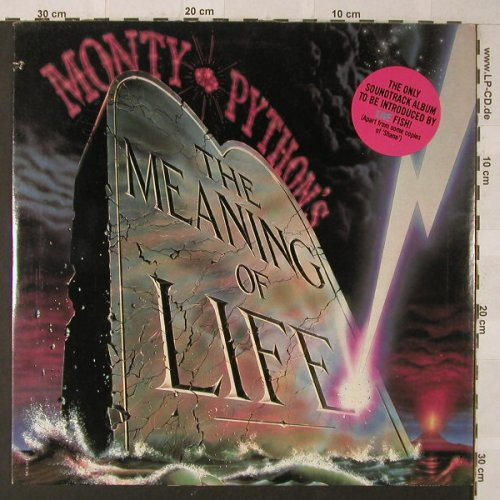 Monty Python: The Meaning Of Life, co, MCA(MCA-6121), US, 1983 - LP - F705 - 9,00 Euro