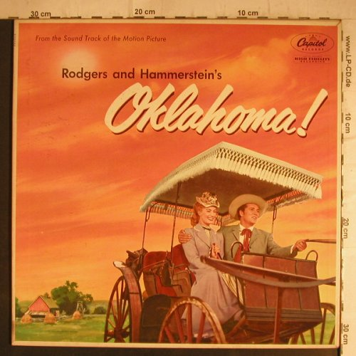 Oklahoma!: From the Original Soundtrack, Foc, Capitol(WAO-595), US,  - LP - F7163 - 9,00 Euro
